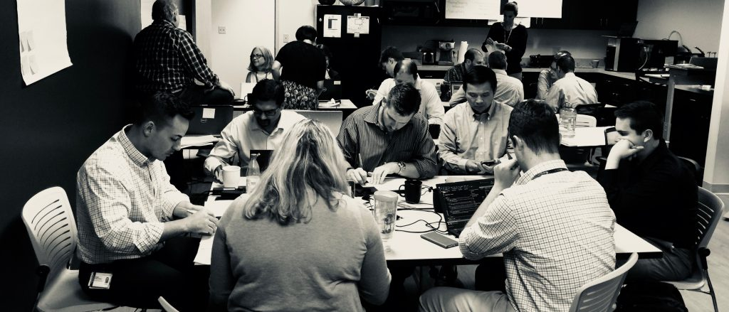 One of our Agile and Scrum classes
