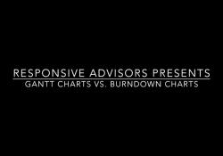 Gantt charts vs burndown charts YouTube screenshot