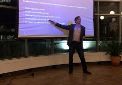 Robb Pieper Speaking at the People Side of Software Meetup